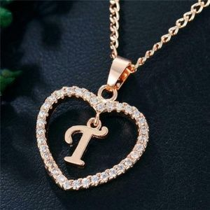 Jewelry - Reserved Romantic Pendant Necklace Initial Letter